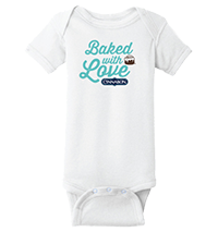 Baked With Love Baby Onesie Thumbnail
